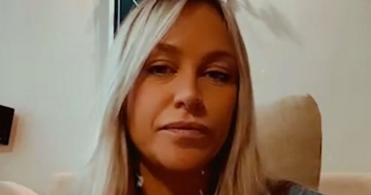 Chloe Madeley wears her coat inside because hubby won't let her turn heating on