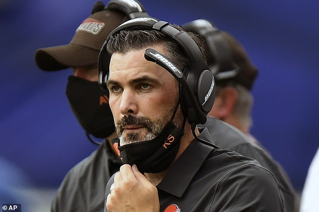 Browns head coach Kevin Stefanski will need to stay away from the team for at least 10 days