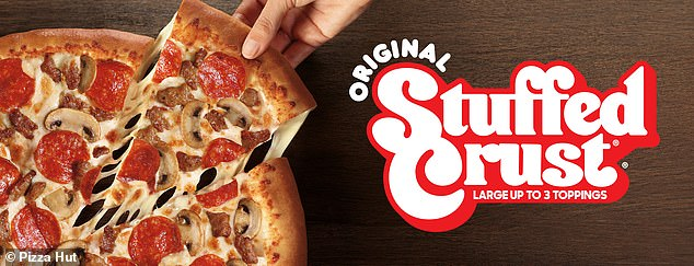 Deal:Customers can also celebrated with a large Original Stuffed Crust pizza with up to three toppings for $11.99 at participating locations nationwide