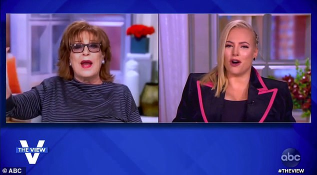 Another row: McCain returned to The View only one day ago and has landed in yet another major argument