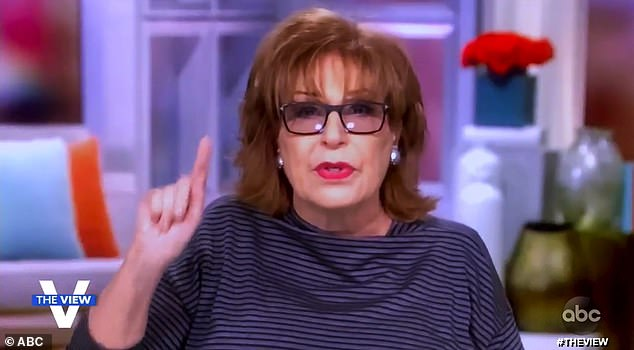 Hitting back: Behar had stinging words for her cohost