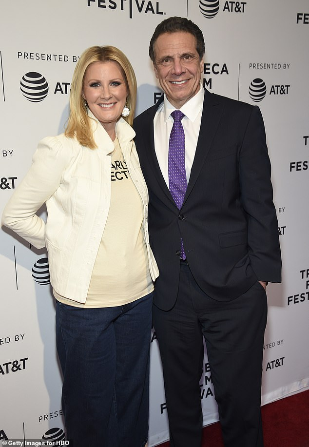 Breakup: Lee and Cuomo were together for 14 years before they announced their split in September 2019. She later snapped up a beachfront house in Malibu for $3.38 million
