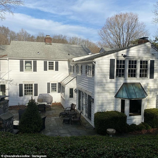 Deal: Lee purchased the white colonial style home in 2008. The house went for sale in May 2019 for $2 million and was sold in October 2020 for $1.85 million