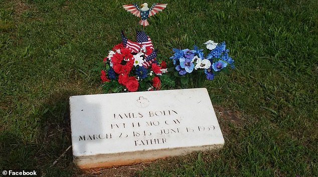 James Bolin is buried in Niangua cemetery, in the town where he and Jackson both lived