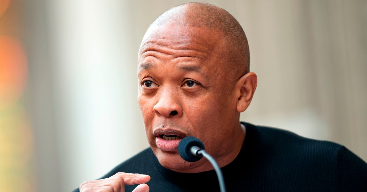 Dr Dre speaks out from hospital bed after emergency treatment for brain aneurysm