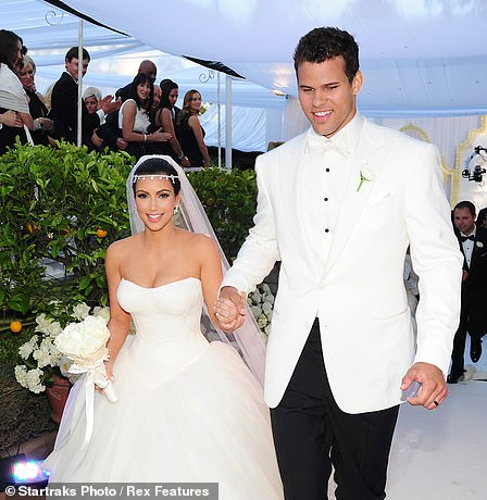 In August 2011, Kim and Kris wed during a lavish, televised ceremony in Montecito, CA