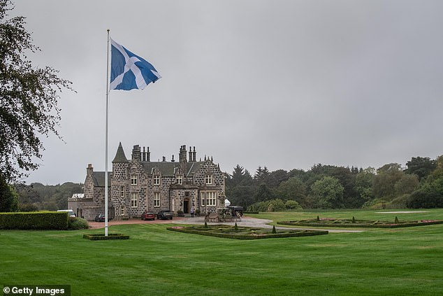 Aberdeenshire's net loss was $1.5 million. The course is pictured above in 2019