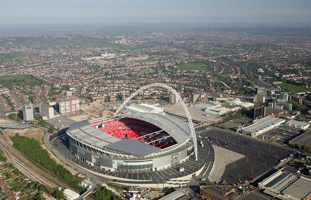 A game against Tottenham at Wembley awaits for either United or City