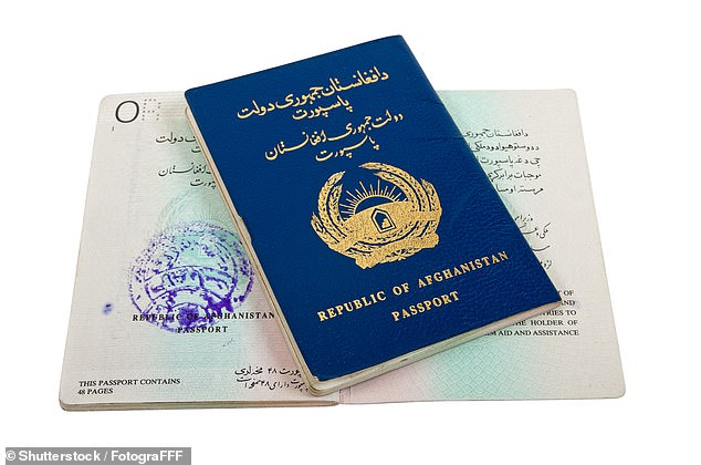 The world's least powerful passport is that issued by Afghanistan, pictured, as citizens only have access to 30 countries