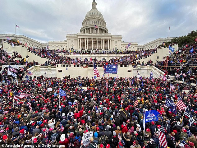 Thousands of Trump supporters descended on Capitol Hill Wednesday as Congress was in session inside moving to certify the Electoral College results, the next step in launching Joe Biden to the White House