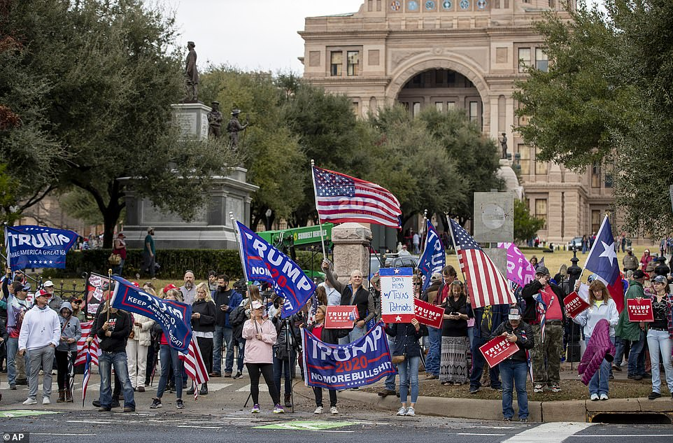 TEXAS: The state's Department of Public Safety evacuated and closed it's Capitol building in Austin, in addition to surrounding grounds after the protests erupted in DC