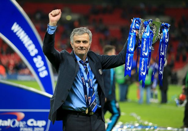Jose Mourinho will attempt to win his fifth League Cup trophy in April