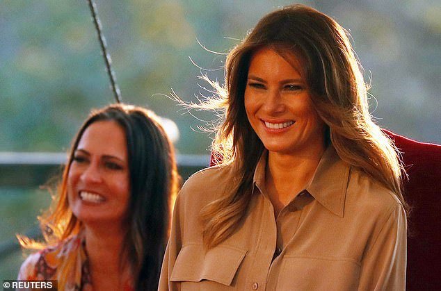 Stephanie Grisham is Melania Trump and worked with the Trumps since the 2016 campaign