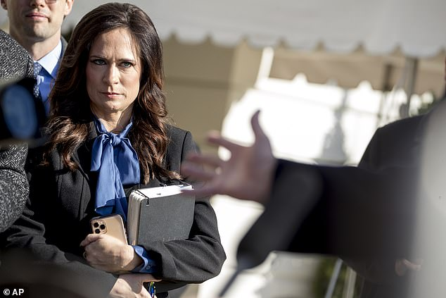 During her tenure as press secretary, Stephanie Grisham carried the distinction of having never held a briefing in the White House press briefing room