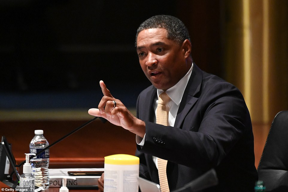 'You don't argue with fools,'Representative Cedric Richmond, a Democrat from Louisiana is urging colleagues