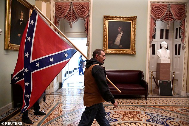 Amid Wednesday's events, authorities lost control as people entered the Capitol building vandalizing and trespassing