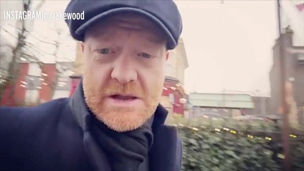 Jake recently filmed his final EastEnders scenes