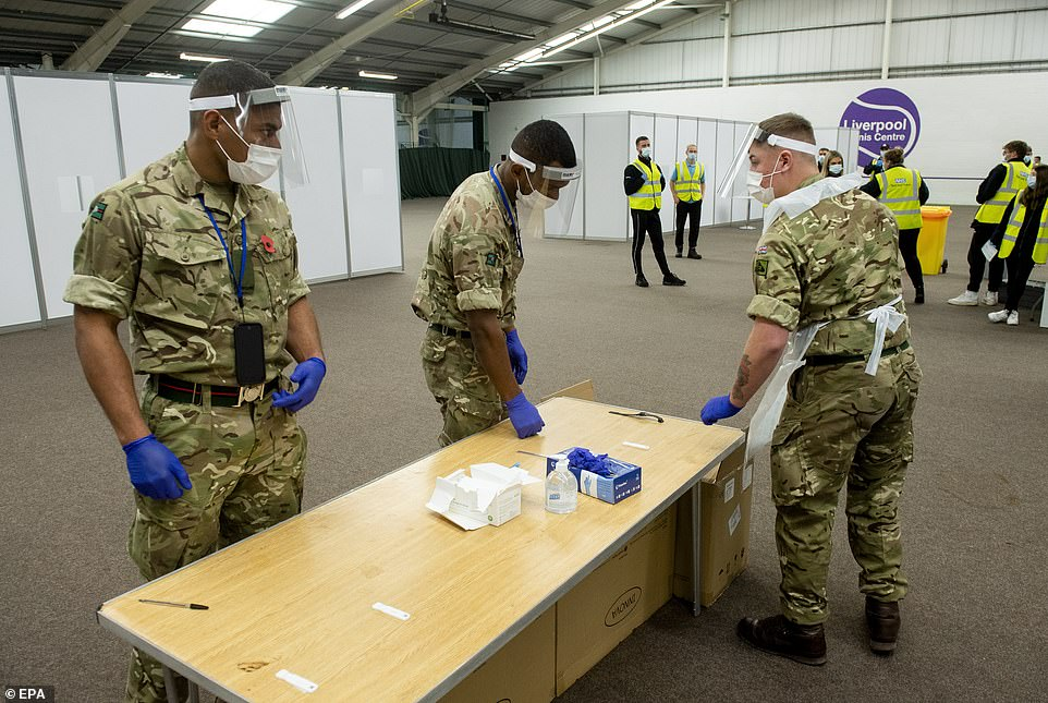 The PM is expected to announce the new vaccination strategy — drawn up by senior military battlefield planners — at a Downing Street press conference at 5pm tonight. Government sources said troops are not being drafted in to help