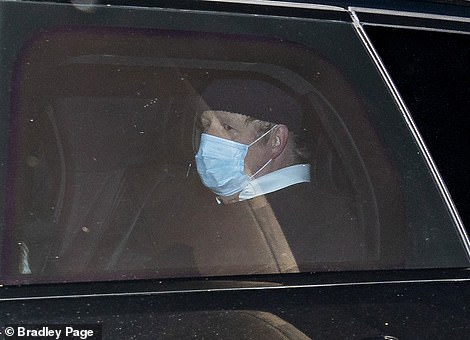 Boris Johnson (pictured today) will unveil a new Army-led plan to distribute Britain's coronavirus jabs this evening