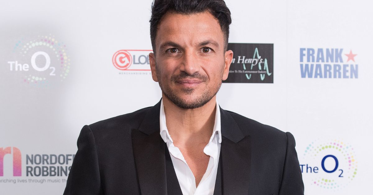 Peter Andre 'extremely tired and unwell' after testing positive for Covid-19