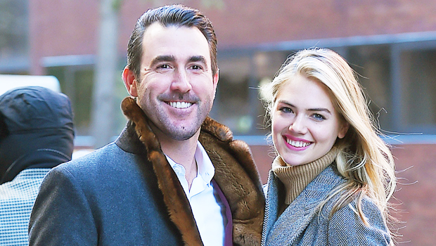 Kate Upton & Daughter Match In Yellow Outfits In Rare Family Photo With Justin Verlander