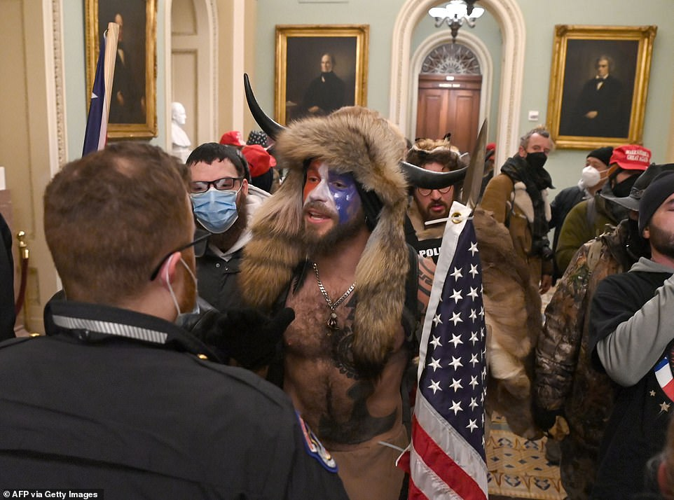 In scenes which caused fear and anguish around the world, Trump's mob walked right through the corridors of Congress