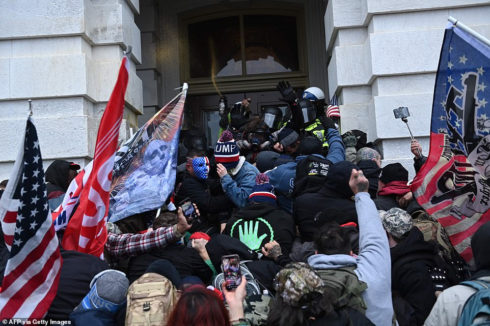 Supporters of Donald Trump stormed the Capitol on Wednesday amid questions over how they breached security so easily