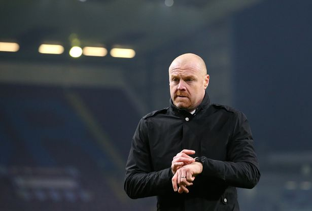 "Sean Dyche says there are ""a couple"" of positive cases at Burnley"