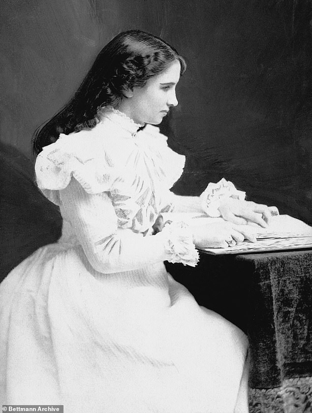 Accomplishment: At age six, she started working with Anne Sullivan, who taught Keller how to spell out words on her palm to better communicate, as well as how to read