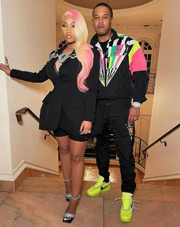Nicki Minaj became a mother for the first time in September