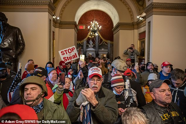 Thousands of Donald Trump's most fervent supporters descended on Capitol Hill Wednesday to protest the results of the presidential election and obstruct Congress from certifying Joe Biden's victory