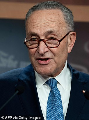 Sen. Chuck Schumer demanded the president's removal from office