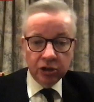 A source said: 'Gove was absolutely crystal clear. He said, ''Schools need to close — there's no question about that'' '