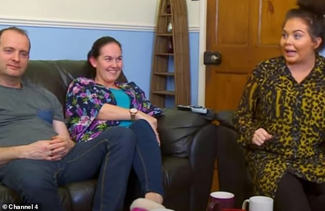 Fame: Betty found fame with Scarlett, her younger sister Ava, 14, and their father Mark when they were all castmembers on Gogglebox, they left in 2016 to pursue new TV projects