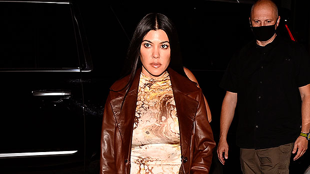 Kourtney Kardashian, 41, Is A '70s Disco Queen In Tight Sequin Jumpsuit: 'Take A Bow' — See Pics