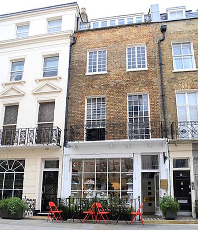 The restaurant-deli (pictured) is one of six owned across by London by Yotam Ottolenghi's company, Ottolenghi Ltd