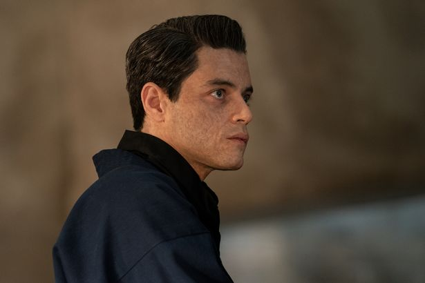 Bond villain Safin (Rami Malek) in NO TIME TO DIE
