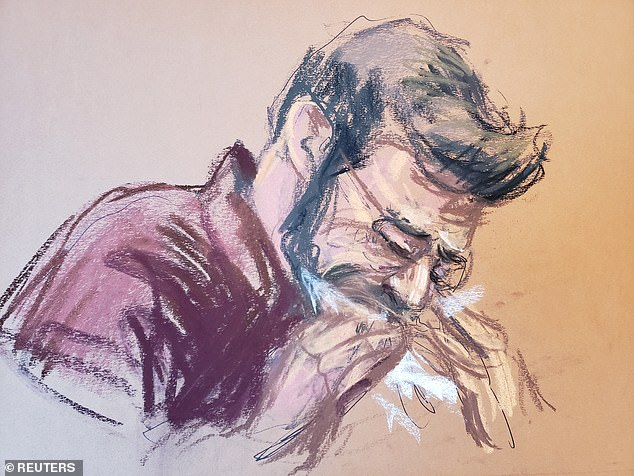 Shown crying in court, Mostofsky was ordered released on $100,000 bond along with other restrictions that include GPS monitoring. Mostofsky also must surrender his passport