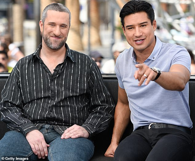 Together again:He apparently remained friendly with his co-star Mario Lopez, who hosted him on Extra in 2016 where he discussed his time in jail