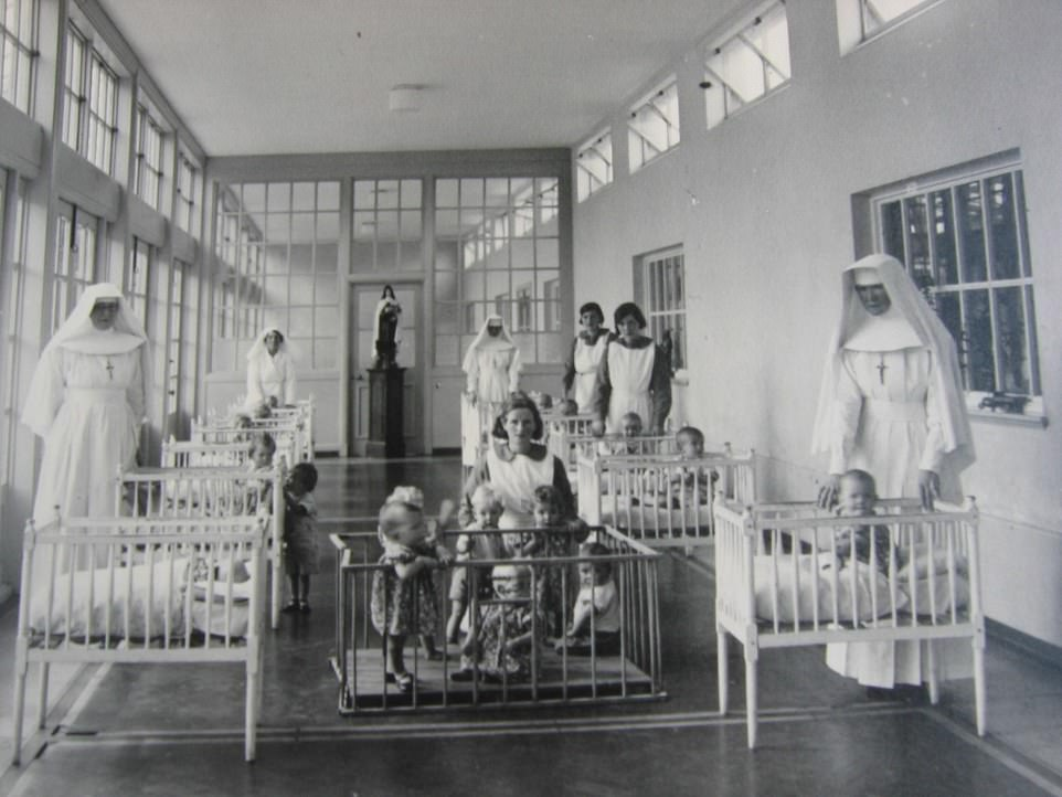 A total of 9,768 women and 8,938 children passed through the doors of Bessborough House, Co. Cork, run by the Congregation of the Sacred Hearts of Jesus and Mary.The burial sites of the 923 children who died here still remain a mystery, largely due to the failings of local health authorities