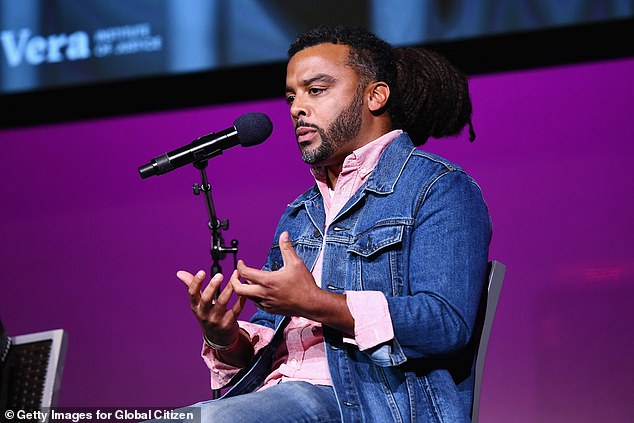 Allegations:In a Medium essay, titled The Wolf and the Whisper Network, the author who described her alleged rape, said that Foss had name checked John Legend when they first met (Foss pictured in 2018)