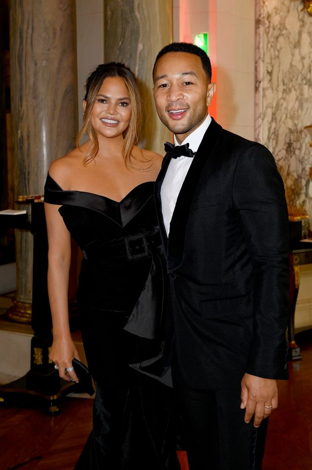 Chrissy Teigen and Joh Legend look sensational