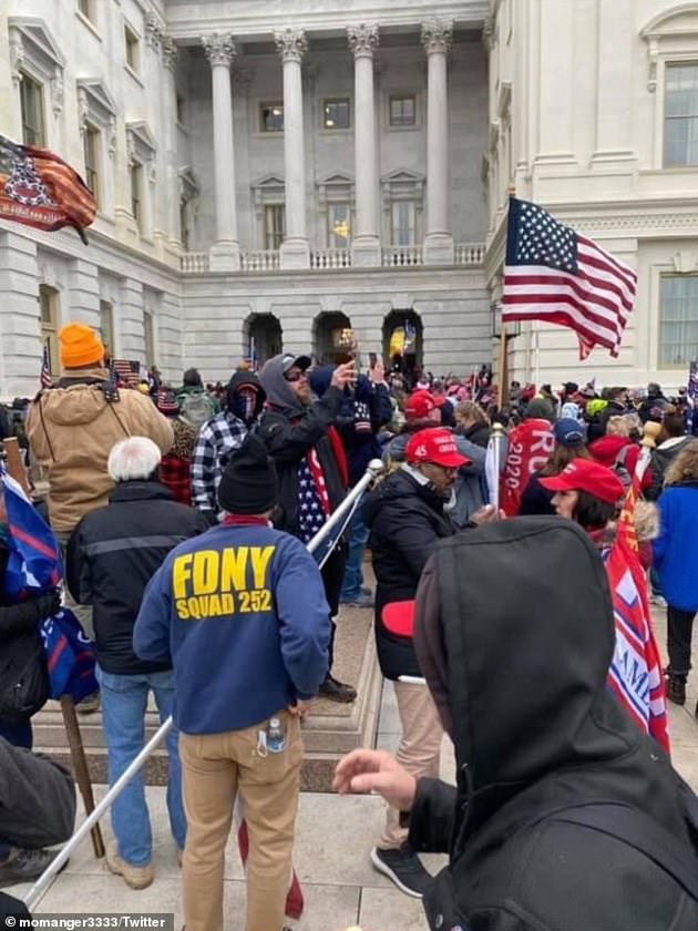 And Williams isn't the only firefighter that was photographed at the Capitol last week. Federal agents are investigating claims that New York City firefighters participated in the Capitol siege