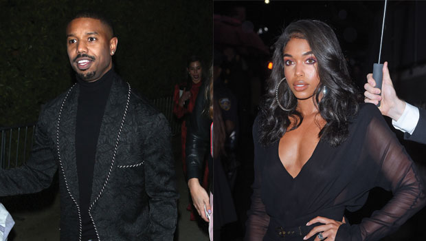 Michael B. Jordan & Lori Harvey Play In The Snow As She Calls Him Her 'Baby' In Sweet New Video – Watch