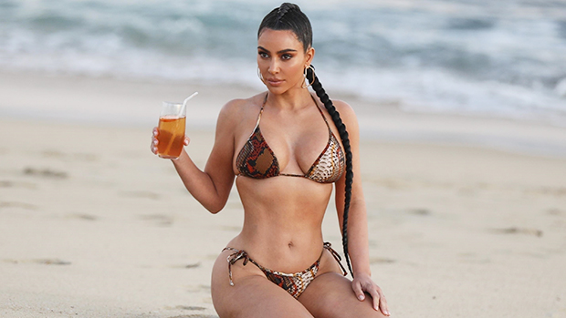 Kim Kardashian's Hottest Photos Amidst Divorce Reports: Leather Looks & More