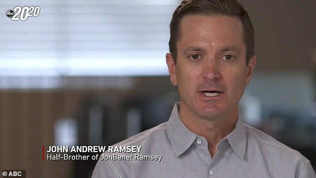 JonBenét Ramsey's half brother is speaking out about the pageant queen's murder in the 20/20 TV special, blasting cops for pointing the finger at his family