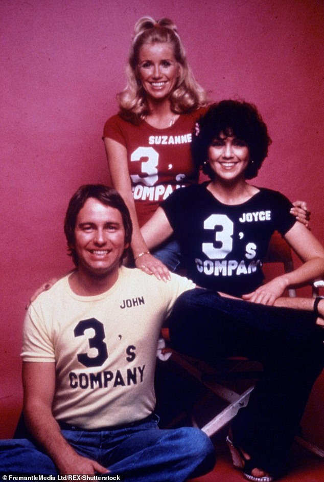 A hit series: The show aired from 1976 to 1984 and starred Suzanne with John Ritter and Joyce DeWitt; seen in 1976