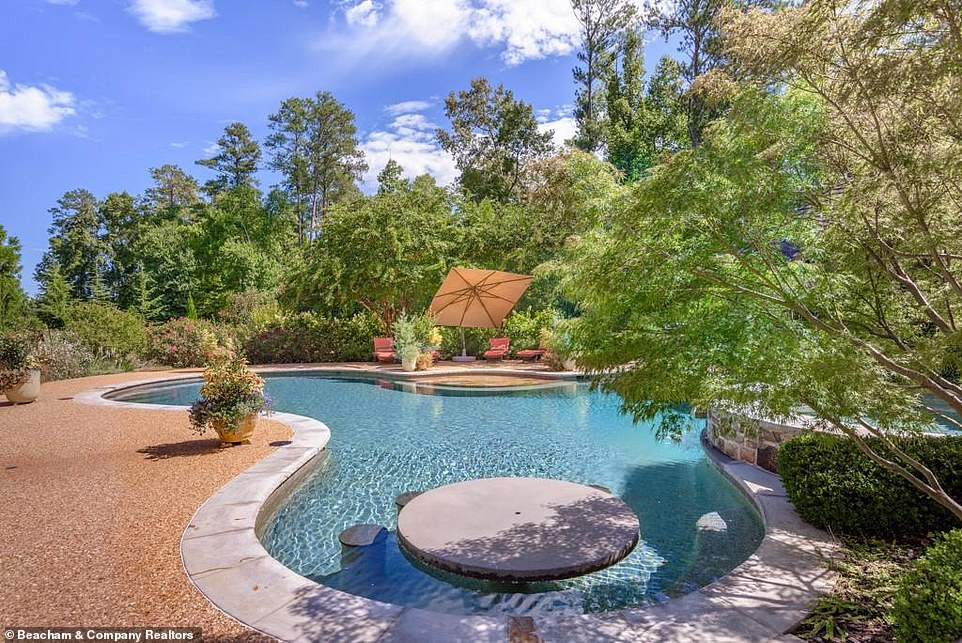 Summery:Dwayne's main house is 14,000 square feet and features a saltwater swimming pool out back, fully equipped with a cabana for him and his family to relax