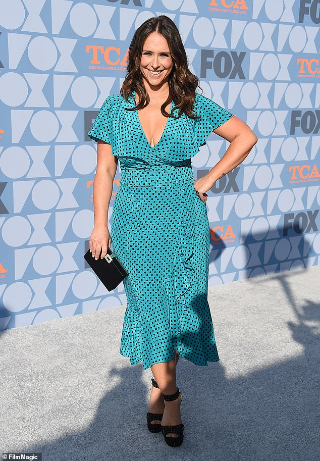 Her guest: Jennifer is seen here in 2019 at the FOX Summer TCA 2019 All-Star Party