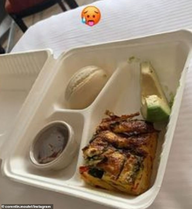 Several top tier athletes including Carreno Busta and Fabio Fognini have critiqued the food they've received since arriving last week